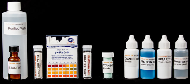 Refill Kit for HazChem LLC Hazardous Materials HazClass 1 Test Kit
