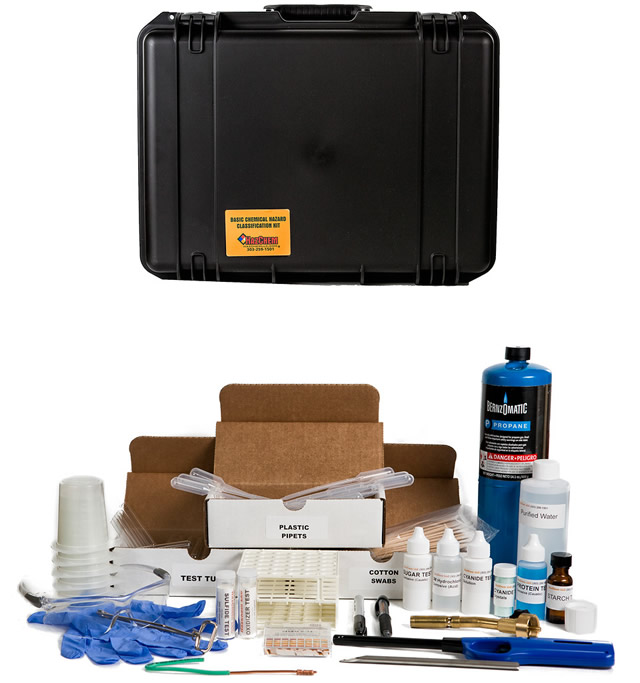 HazChem LLC Hazardous Materials HazClass 2 Test Kit